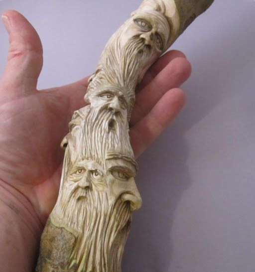 This is a post about the carvings I do and collectively call a carving doodle. So what do I mean when I say I'm doing a carving doodle, wel...