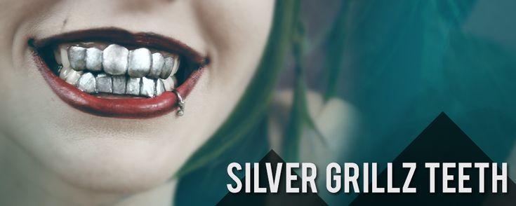 Silver Grillz Teeth Polymorph Thermoplastic Tutorial - Keevanski