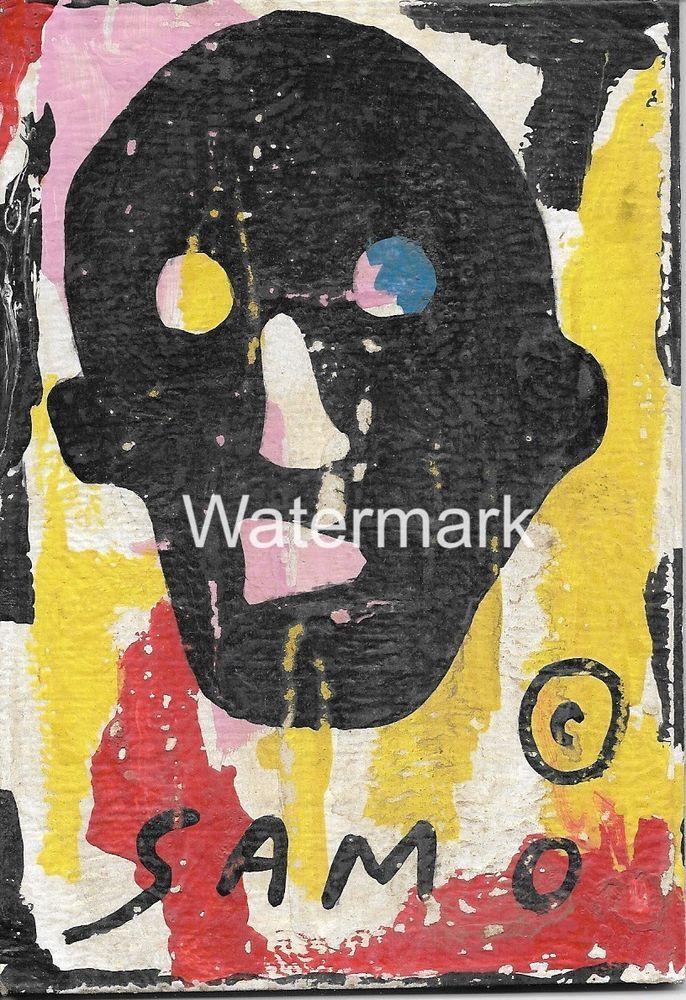 JEAN-MICHEL BASQUIAT  Art-Postcard  NEW