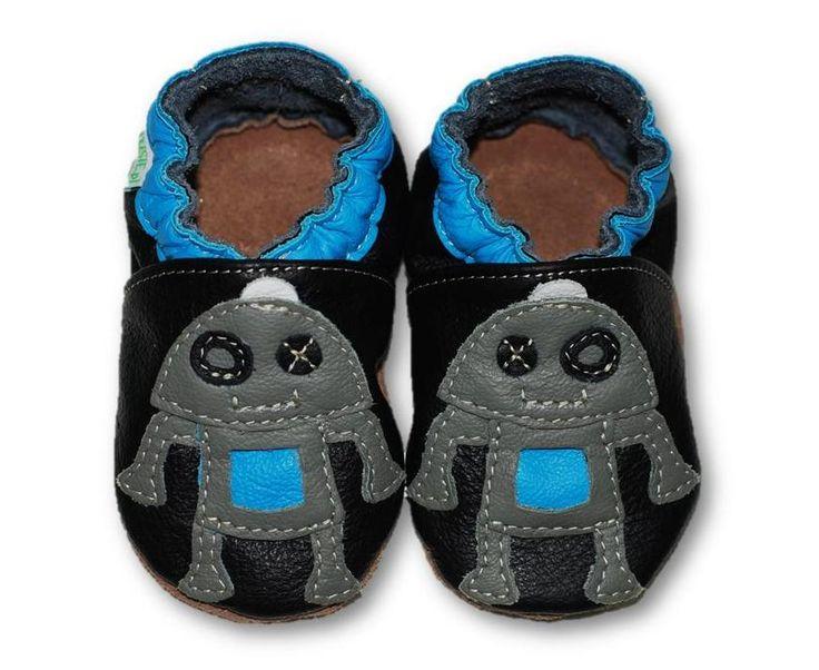 ekoTuptusie Robocik Soft Sole Shoes Robot Les chaussures pour enfants Krabbelshuhe https://www.fiorino.eu/sklep/