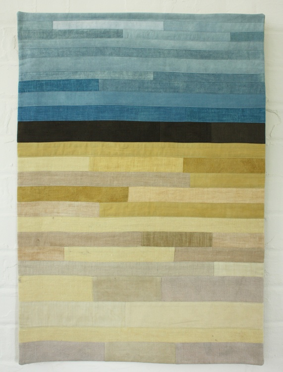 Field Study IV - Lotta Helleberg on Poppytalk Eco dyed with chamomile, walnut, tansy, oak and indigo