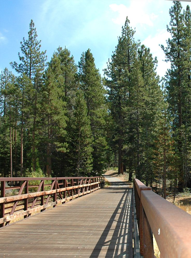One of the most popular South Lake Tahoe bike trails is near Camp Richardson Resort and skirts the lake and meanders through the forest where you come along several Lake Tahoe beaches. This is a great Lake Tahoe vacation experience in both the summer and fall.