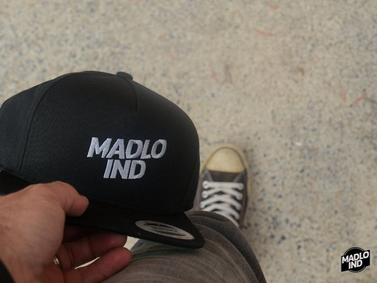 Madlo Industries Flat Bill Cap