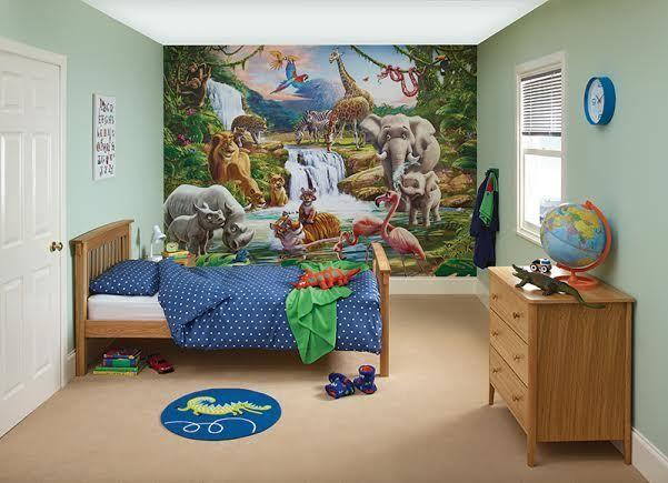 Boys jungle bedroom using #DuluxBedroom