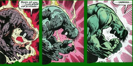 In order to make the Hulk truly superpowered, they decided to give him one of the more useful powers that any hero can have; superhuman healing and regenerating abilities. Like Deadpool & Wolverine, the Hulk has the ability to grow entirely new tissues and heal from most wounds in just seconds. Severe wounds as well – including the near-complete destruction of his body mass – are also no match for the healing abilities of the Hulk.