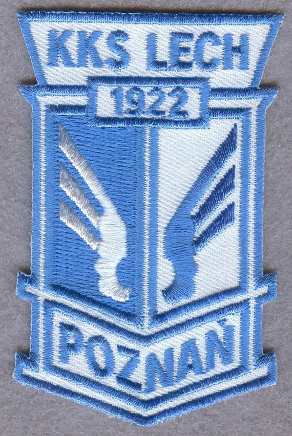 Lech Poznan Polish Poland Football Soccer Badge Embroidered Patch