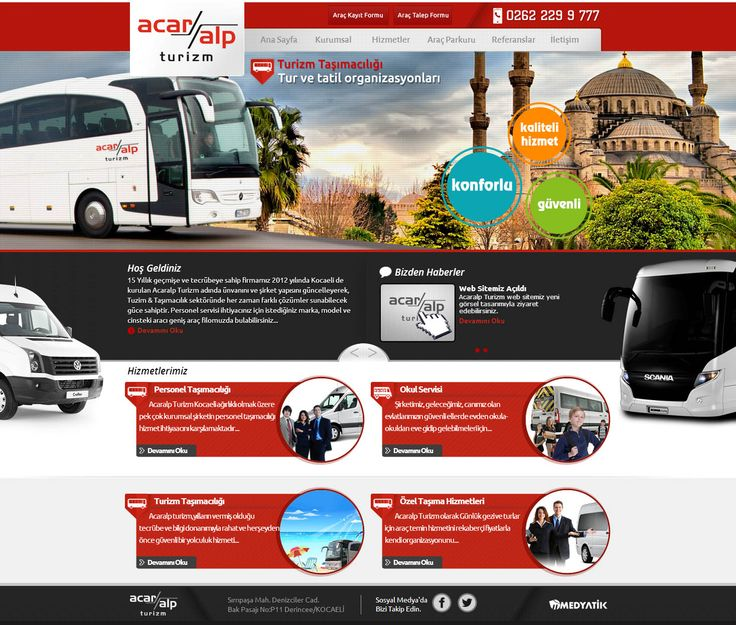 turizm-tasimacilik-web-site-tasarimi - web design - creative