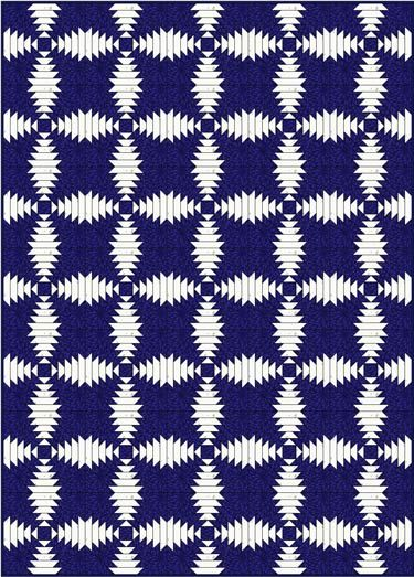 Pineapple Quilt Pattern Designs: Download our free paper piecing quilt patterns and coloring pages to help you design and piece this dynamic quilt.