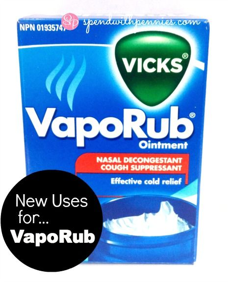 New Uses for Vicks VapoRub!  It's great for tons of things from Headaches, to bug bites and keeping your pets in line!