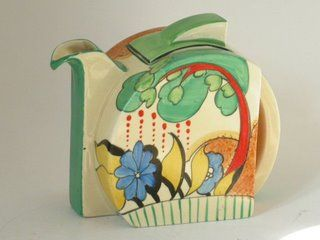 Clarice cliff Stamford shape sold for £1,070  in 2006  C.1932-33