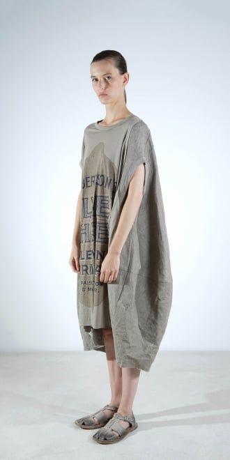 Rundholz Mainline Print Oversize Dress