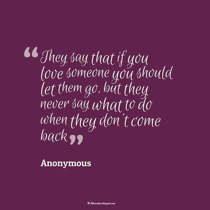 how to let go someone you love quotes