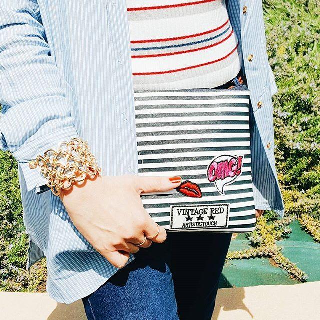 Les #rayures j'adoooore !   #lolfashion #detail #blogger #bloglife #lifestyle #look #lookoftheday #lookdujour #blogueuse #blogueusemode #mode #fashionstyle #fashionblog #fashionaddict #fashiongram #fashionpost #instadaily #blue #mystyle #myfashion #tendances #tenueoftheday #whatiworetoday #wiw #frenchblogger #blogueusemode #metoday #primark #alcott