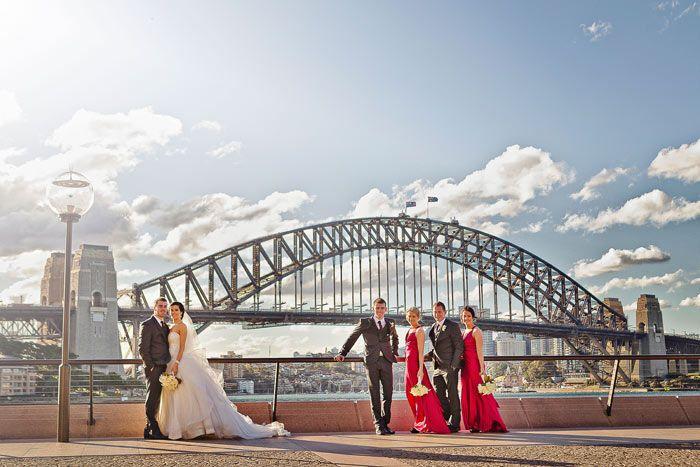 Kirsty & Rodney's Red Wedding in Sydney