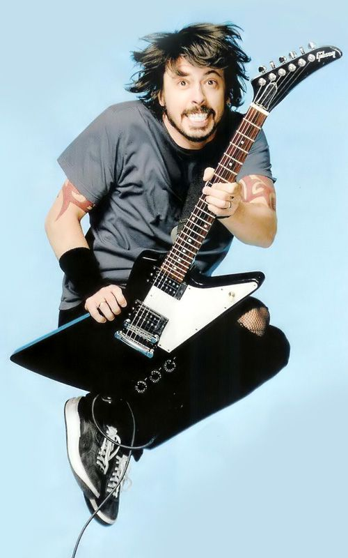 Dave Grohl kicks so much ass.