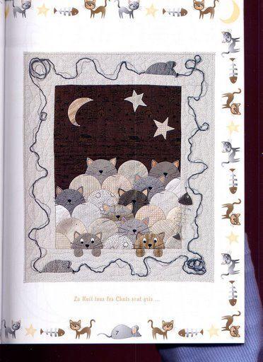 COLCHA DE PATCHWORK DE GATITOS - joana333 - Álbumes web de Picasa