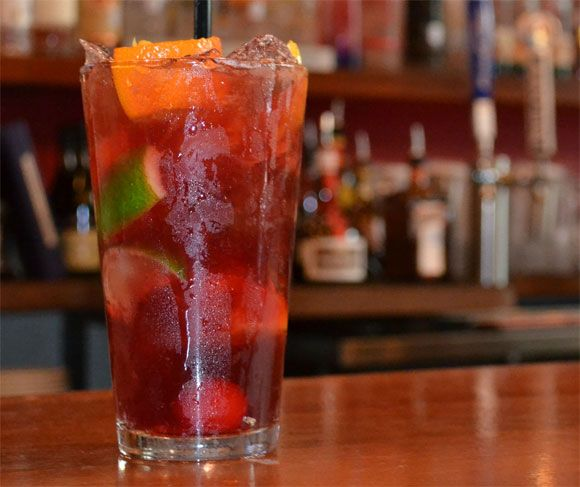 """Oh how we love Sangria and Olive Garden makes some of the best there is. Try our special """"copycat"""" recipe and you will swear you are sipping Olive Garden Sangria. This Sangria recipe calls for some ingredients you may not have considered and it does need to set 4 hours or overnight to be properly"""