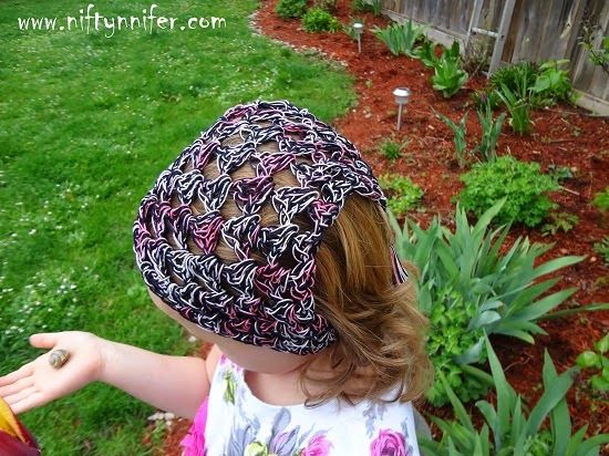 Crochet Hair Kerchief Pattern : Free Crochet Hair Kerchief Pattern By Niftynnifer ** I like the look ...