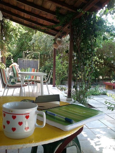 Patio, via Flickr. Studying in patio