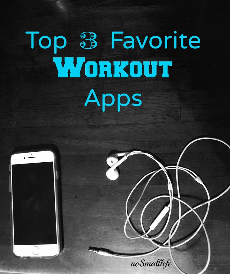 3 AWESOME workout apps!