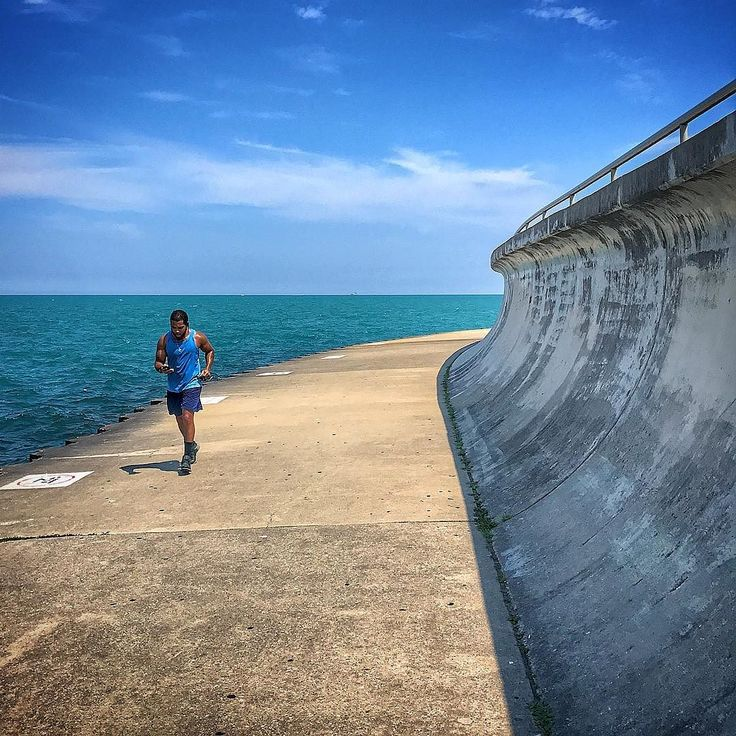 Joggen am Lake Michigan. #chicago #chicagogram #chicagolife #usa #urlaub #sommer #reisen #travel #travelblogger #impression #windycity #illinois