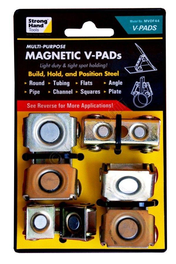 StrongHand Magnetic V-Pad, Weld Positioner, MVDF44