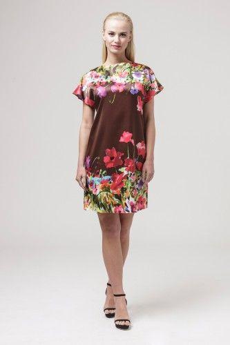 011212380 Sukienka wizytowa #casualdress #floraldress #minidress