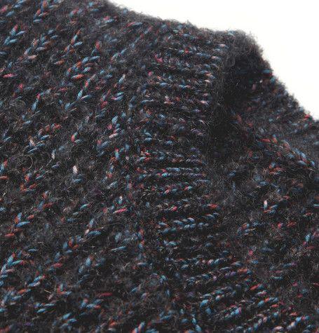 Raf SimonsFlecked Chunky-Knit Sweater