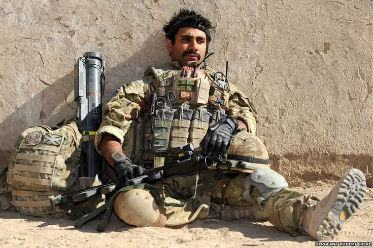 2nd Battalion The Parachute Regiment in Helmand Province, Afghanistan.