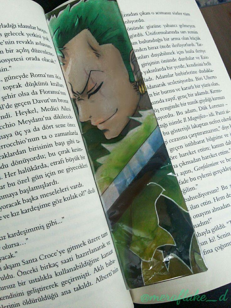 One Piece zoro bookmark