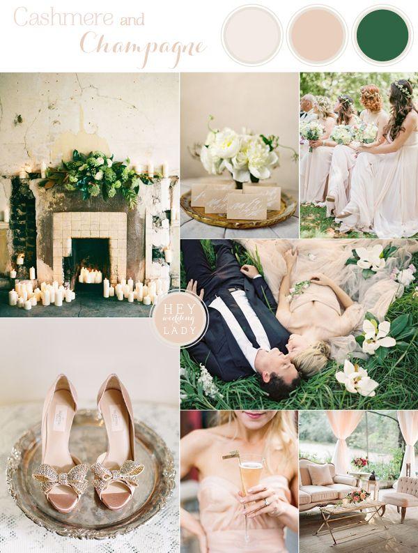Cashmere and Champagne - Elegant Warm Neutral Wedding Inspiration from Hey Wedding Lady