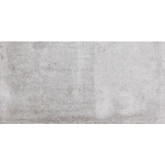 Carrelage gris effet b ton cardiff x cm for Carrelage 90x90 blanc