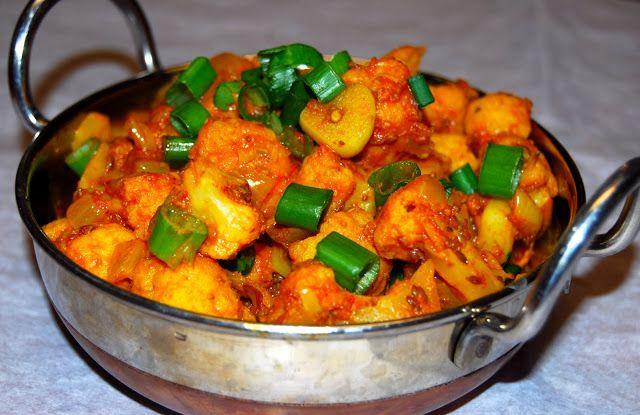Cauliflower Sabzi | Holy Cow Vegan