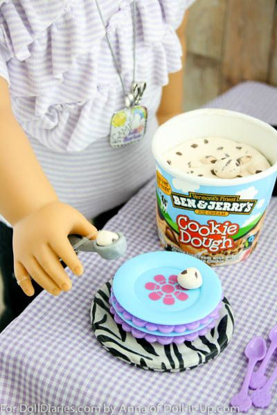 Serve Up Doll Size Ice Cream — Doll Diaries