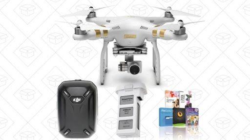 Take to the Skies With This $899 DJI Phantom 3 Professional Bundle