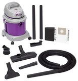 Shop-Vac - All Around 4-Gal. Wet/Dry Vacuum - Purple/Gray, 5895400