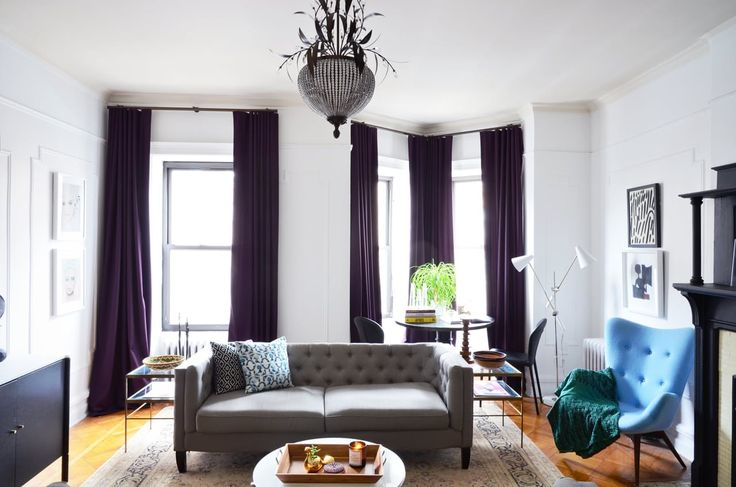 House Tour: A Creative Couple's Cozy Brooklyn Rental | Apartment Therapy