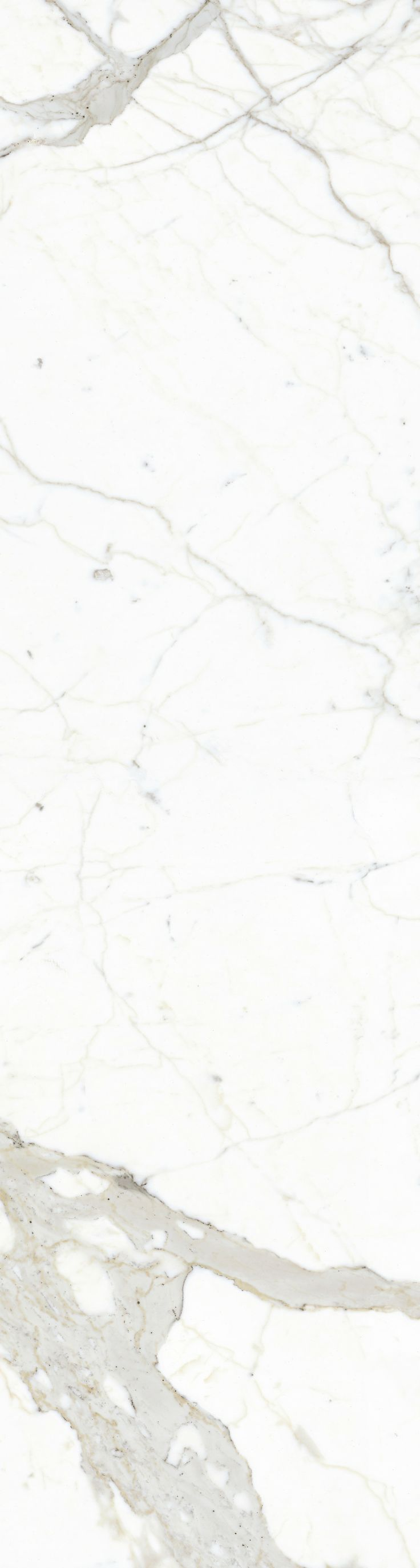 Porcelain Tile | Marble Look: Plane Calacatta Vena, large panels.  http://www.stonepeakceramics.com/products.php