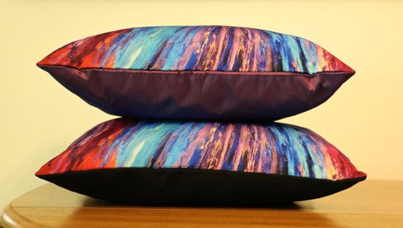 'Hope' Art Cushion | Throw Pillow - Unique original designs, soft, silky, luxurious! $65 http://coloursofhope.com.au/store?category=cushion