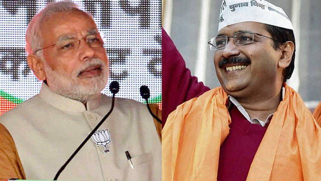 Arvind Kejriwal would like Narender Modi to attend his swearing-in ceremony on Valentine's day itimes.com