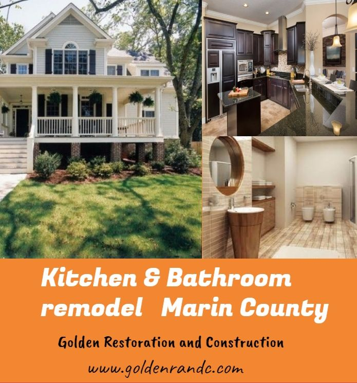 Golden Restoration and construction offers Creative Kitchen & Bathroom remodeling services in Marin County, which is a professional home remodeling contractor and has an experienced team. They can give you wonderful tips and solutions according to your demands.