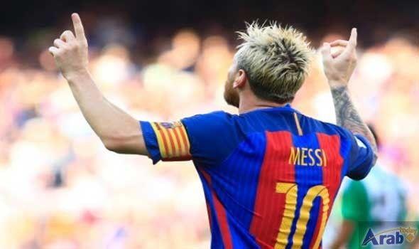Lionel Messi back in Barcelona training after…
