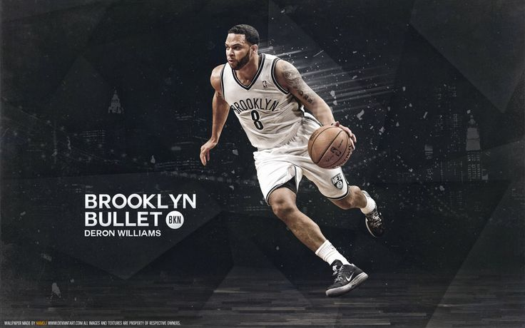 New Deron Williams wallpaper, full size available at - http://www.basketwallpapers.com/USA/Deron-Williams/