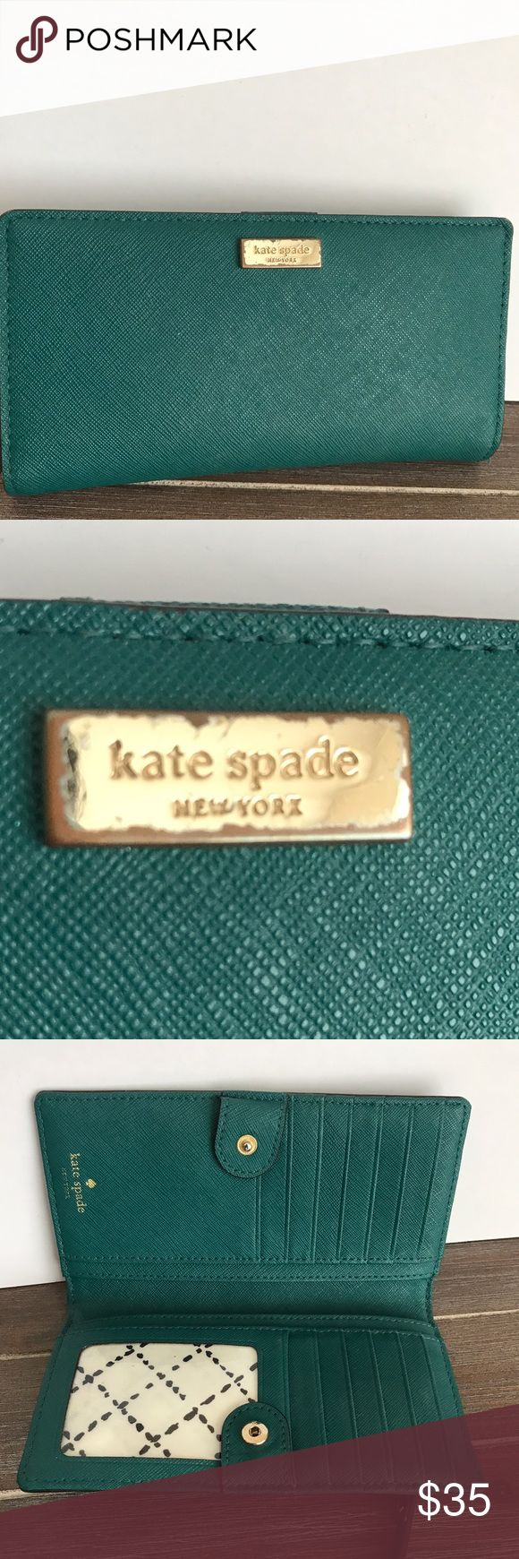 Kate Spade Cameron Street Stacy Wallet Don't like the price? MAKE AN OFFER ! Kate Spade Cameron Street Stacy Wallet. Used but in great condition. Kate Spade logo worn (see picture). kate spade Bags Wallets