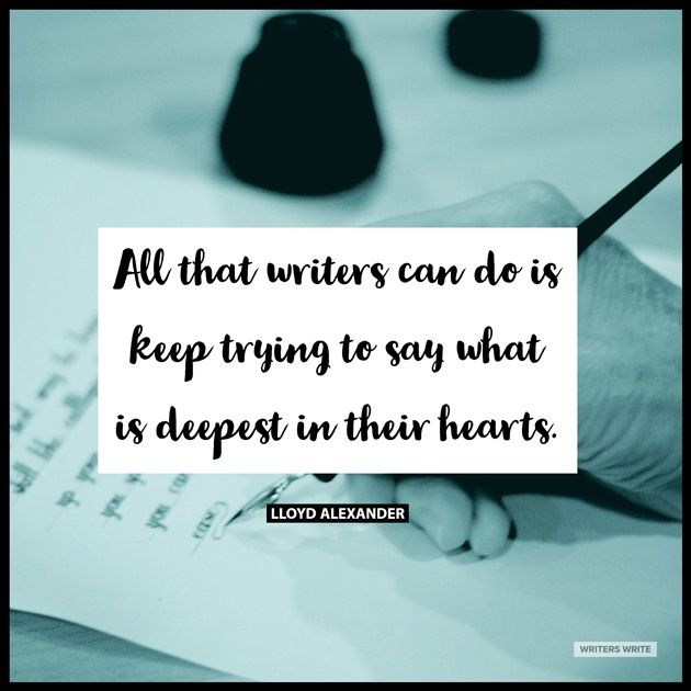 Quotable – Lloyd Alexander - Writers Write