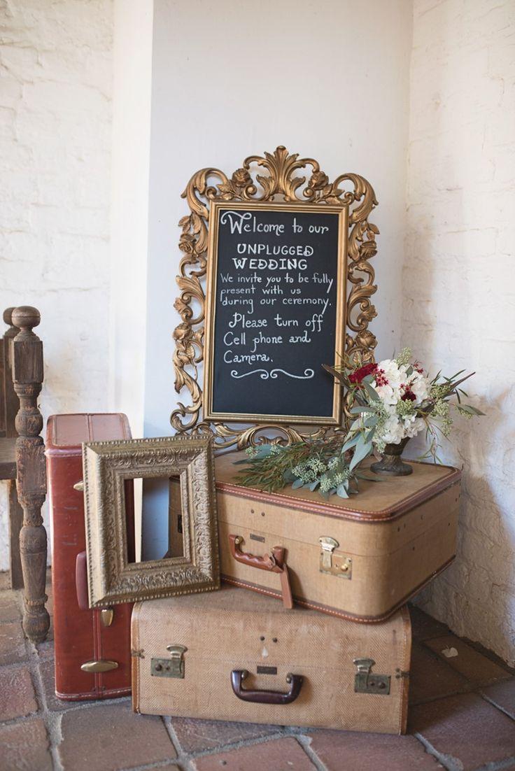 Vintage Wedding Signage & Decor
