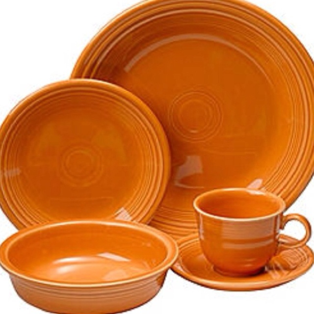 Tangerine Fiestaware LOVE I think I have almost the whole shibang! & 85 best fiestaware images on Pinterest | Fiesta ware Dinner ware ...