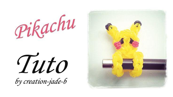 Tuto Rainbow Loom - Embout de Crayon Pikachu !