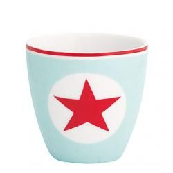 Green Gate / Mini latte cup Star pale blue   http://www.bellarose.sk/dekorace/mini-latte-cup-star-pale-blue/