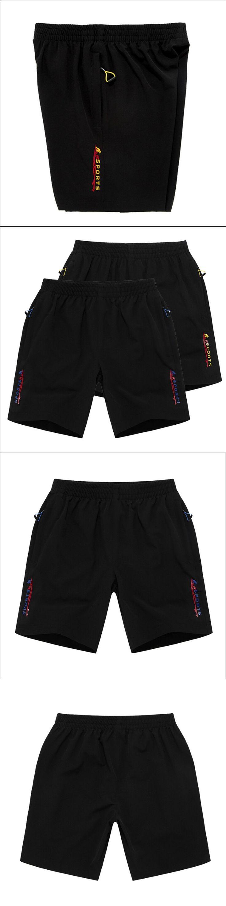 Man Summer Casual Shorts Black Elastic Waist Male Holiday Beach Wear Shorts Good Quality Man Brand Clothing W91176